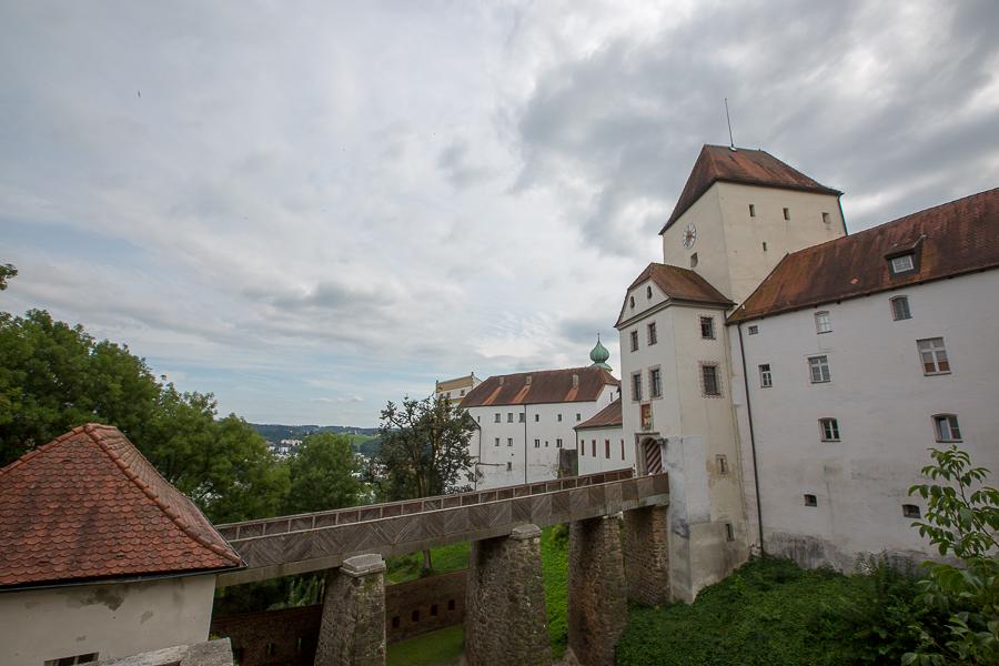 пассау крепость замок