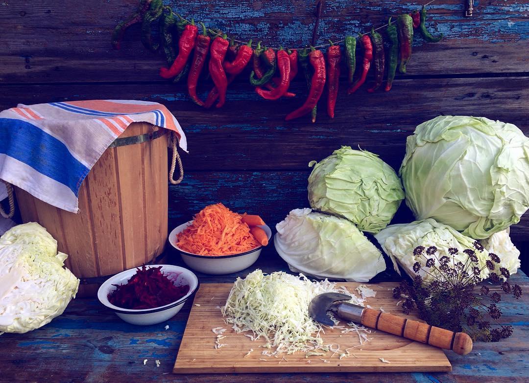 Квашеная капуста при похудении рецепт
