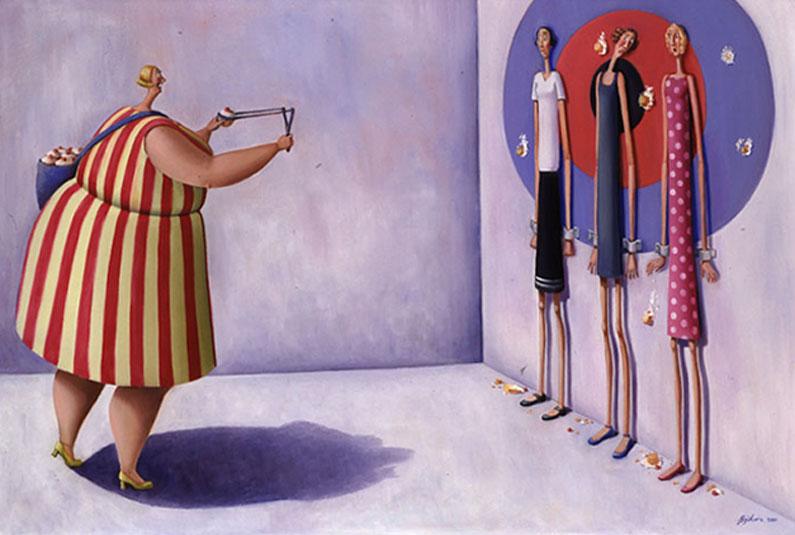 ожирение пузанет