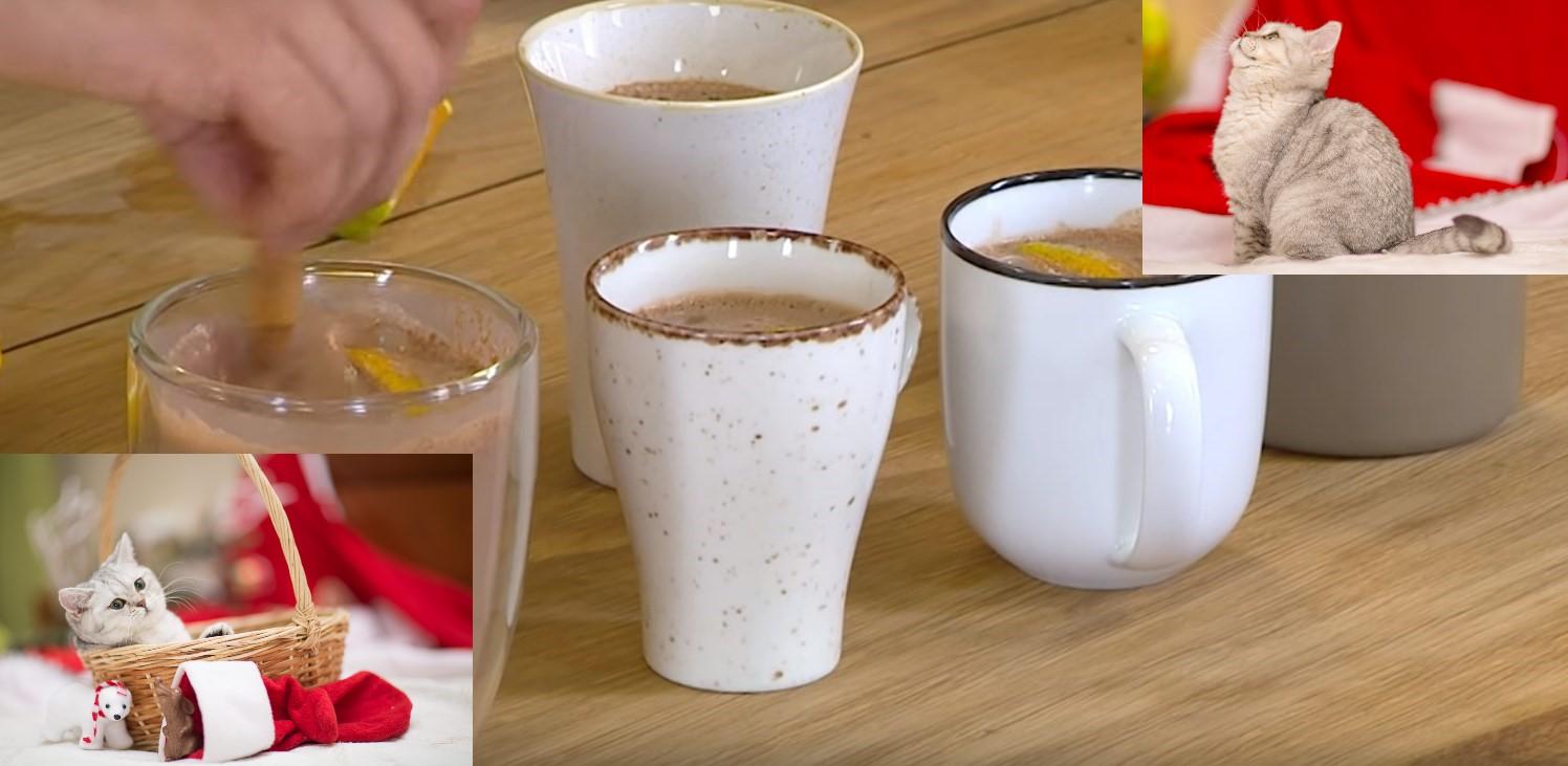 горячий шоколад в домашних условиях