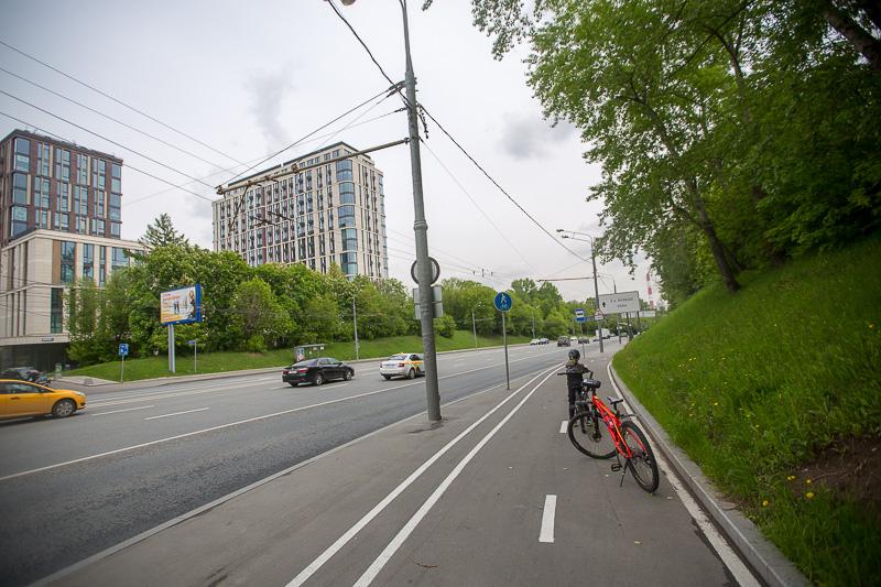 велосипед в москве на карантине