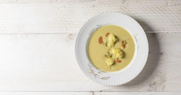 рецепт вкусного супа из цветной капусты