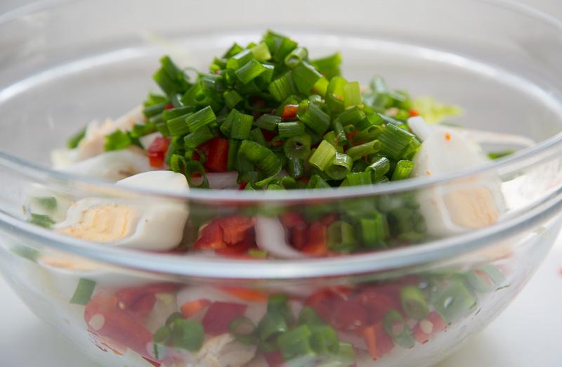 салат для похудения рецепт пошагово