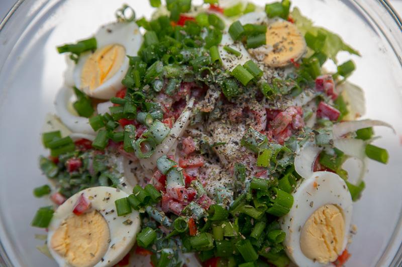 салат для похудения рецепт