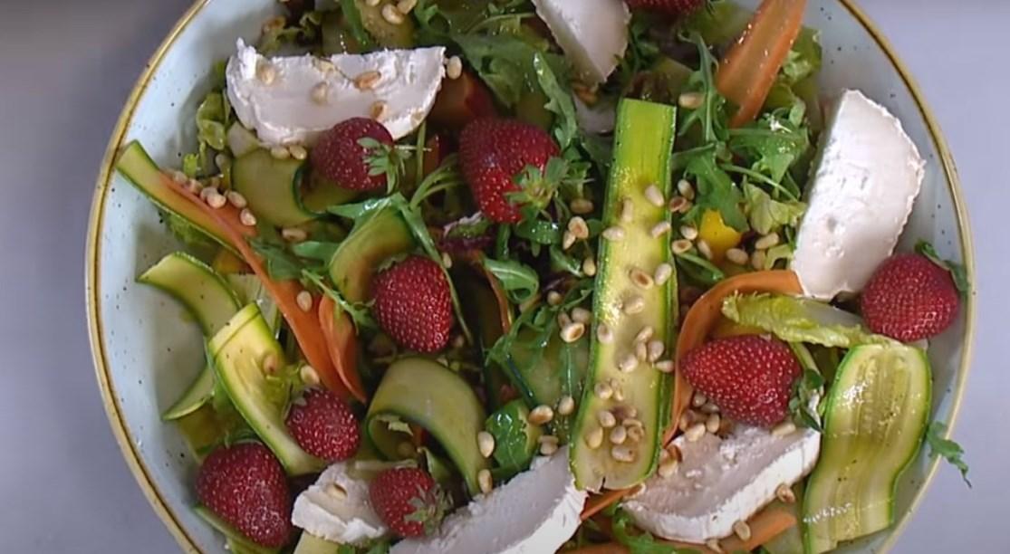 летний салат новый рецепт