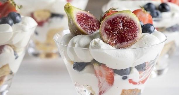 десерт пятиминутка трайфл