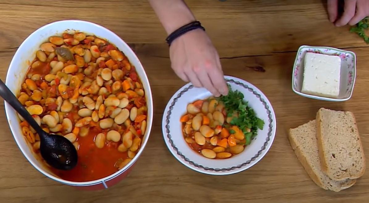 фасоль в духовке рецепт